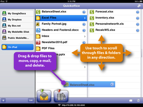 Document to go screen 01