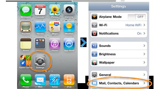 find my iphone step 2