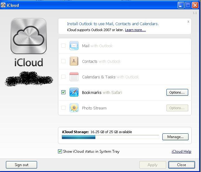已修改後的 iCloud.msi