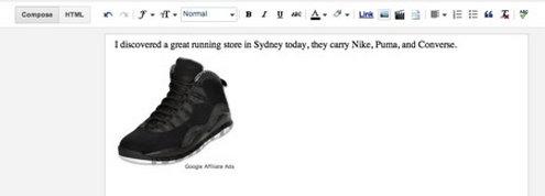 blogger new ads