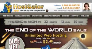 hostgator 半價