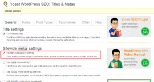 wp seo no subpages