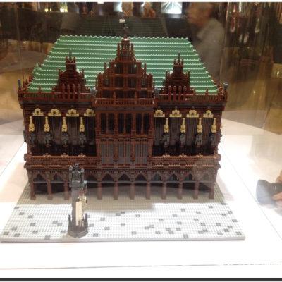 Piece of Peace LEGO 不來梅市集的市政廳及羅蘭雕像
