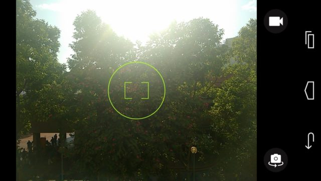 Moto G Camera Interface