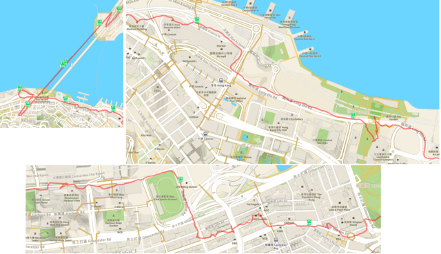 runkeeper map