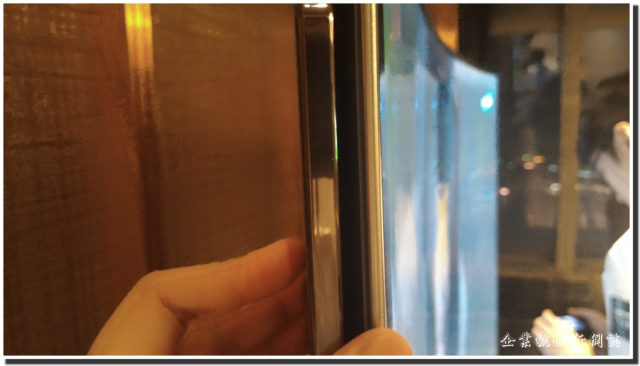 Samsung SUHD TV panel thickness
