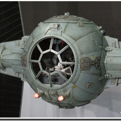 Star War Tie-Fighter Millenium Falcon