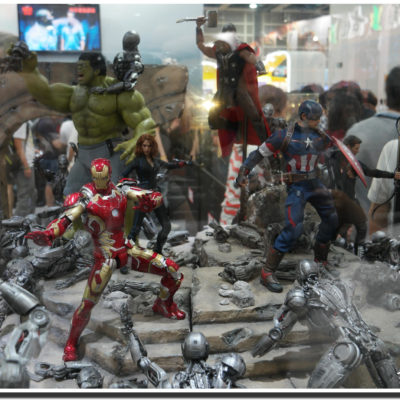 Ironman figure