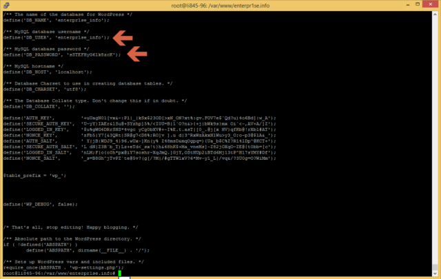 easyengine wp-config.php
