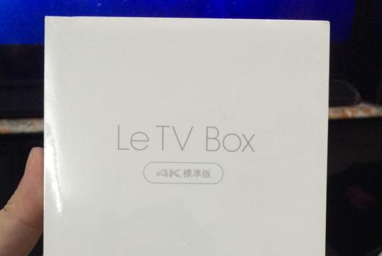 LeTV TV box standard edition