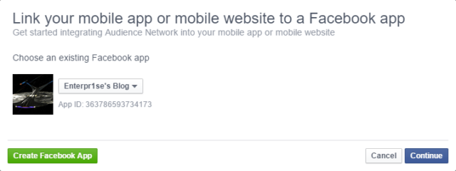 apply facebook audience network
