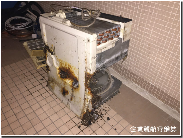 使用十年的冷氣機