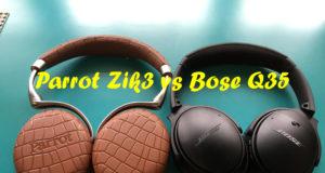 Parrot Zik3 vs Bose Q35