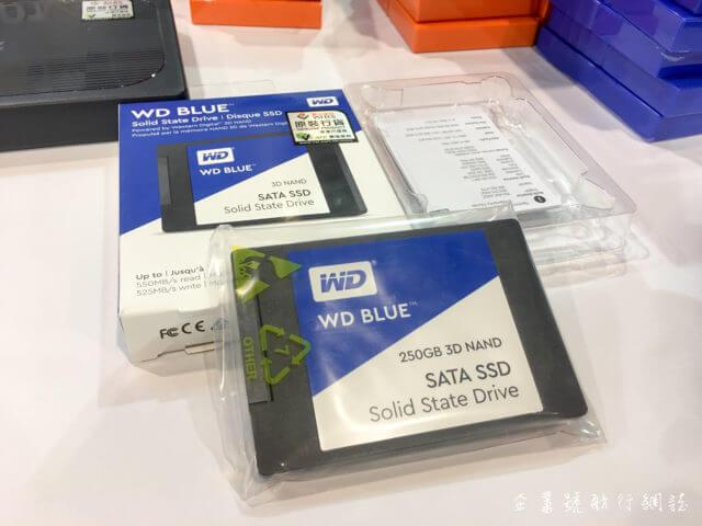 香港電腦通訊節 2017 wd blue ssd