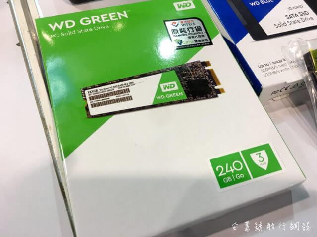 香港電腦通訊節 2017 wd green m2 ssd