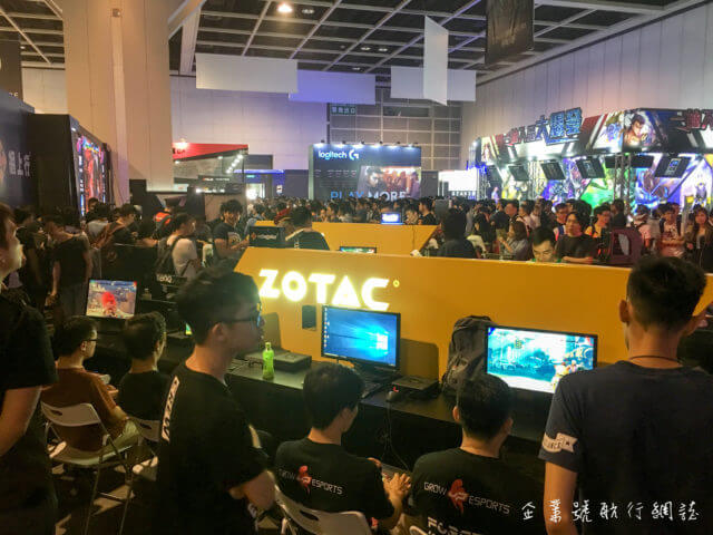 香港電腦通訊節 2017 zotac