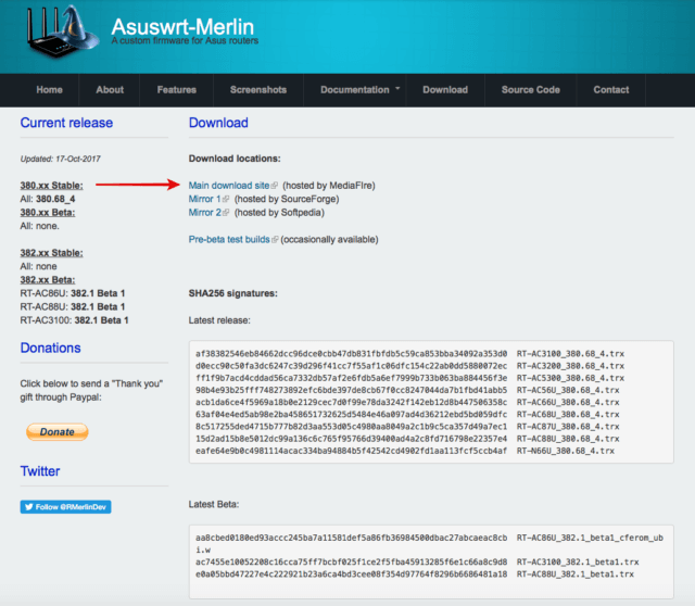asuswrt-merlin download