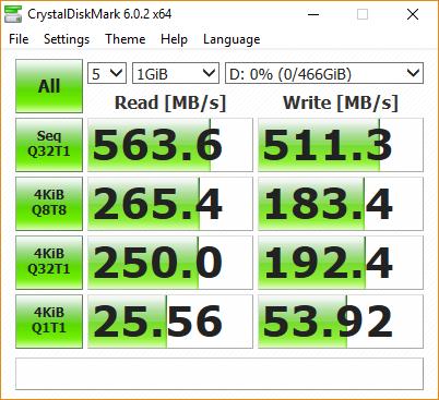 sandisk extreme portable ssd 500gb usb 3.1 type c speed test